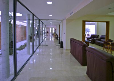 Sala tanatorio de Montilla